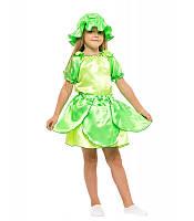 Карнавальный костюм капусты листика на праздник Весны (4-8 лет)