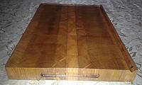 Кухонная торцевая разделочная доска 45х30х4 см. из дуба С45х30