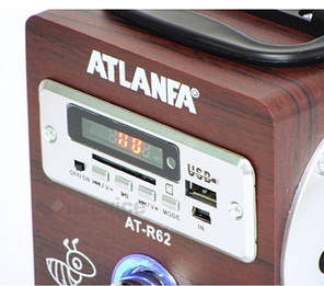Портативная колонка Atlanfa АТ-R62, фото 2