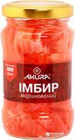 Имбирь розовый маринованный AKURA 180г