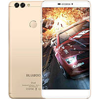 Смартфон Bluboo Dual (Gold) (2Gb/16Gb; Dual camera 13MP/8MP; 3000 mAh) Гарантия 1 Год!