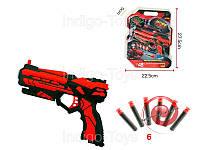 Пистолет FJ803 стреляет паролоновыми пулями