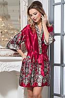 Короткий классический халат - кимоно Mia-Amore JUSTIN 3143 Миа-миа