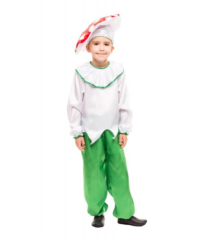 Карнавальный костюм грибочки Мухомора для девочки на праздник Весны (4-8 лет)