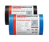 Пакеты для мусора PRO 35 л. 100 шт. синие,черные