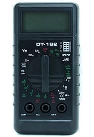 Цифровой мультиметр  DT-182 тестер