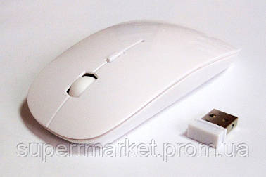 Мышь беспроводная UKC (в стиле Apple), white