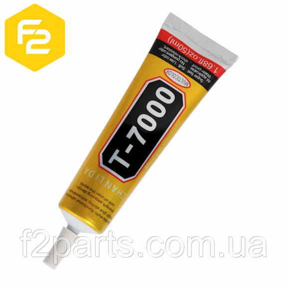 [50мл] черный клей-герметик Zhanlida T7000, при корпусном ремонте техники - F2 Parts - специализированный интернет магазин расходных материалов для ремонта. в Киеве