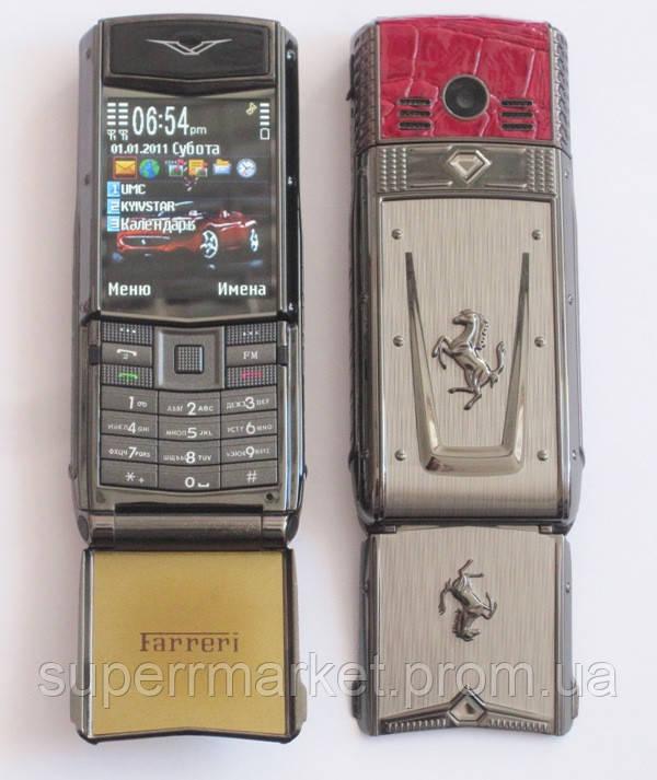 Телефон Vertu Ferrari F510 на 2 сим  - Интернет-магазин M-MARKET в Днепре