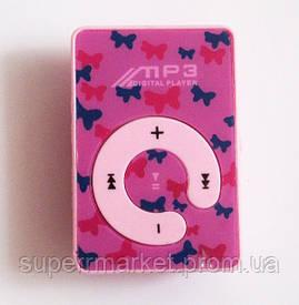 MP3- плеер Atlanfa AT-P24 цветной с прищепкой, pink