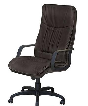 Кресло Палермо PL-Пластик Неаполь-20 Чёрный., фото 2