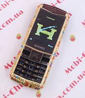 Копия Nokia Vertu, Herems C19  - стильный женский телефон, 1sim