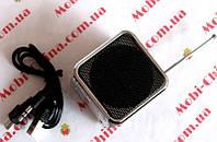 Портативная колонка / динамик Mini Digital Speaker TD-V26 (с FM радио и MP3)