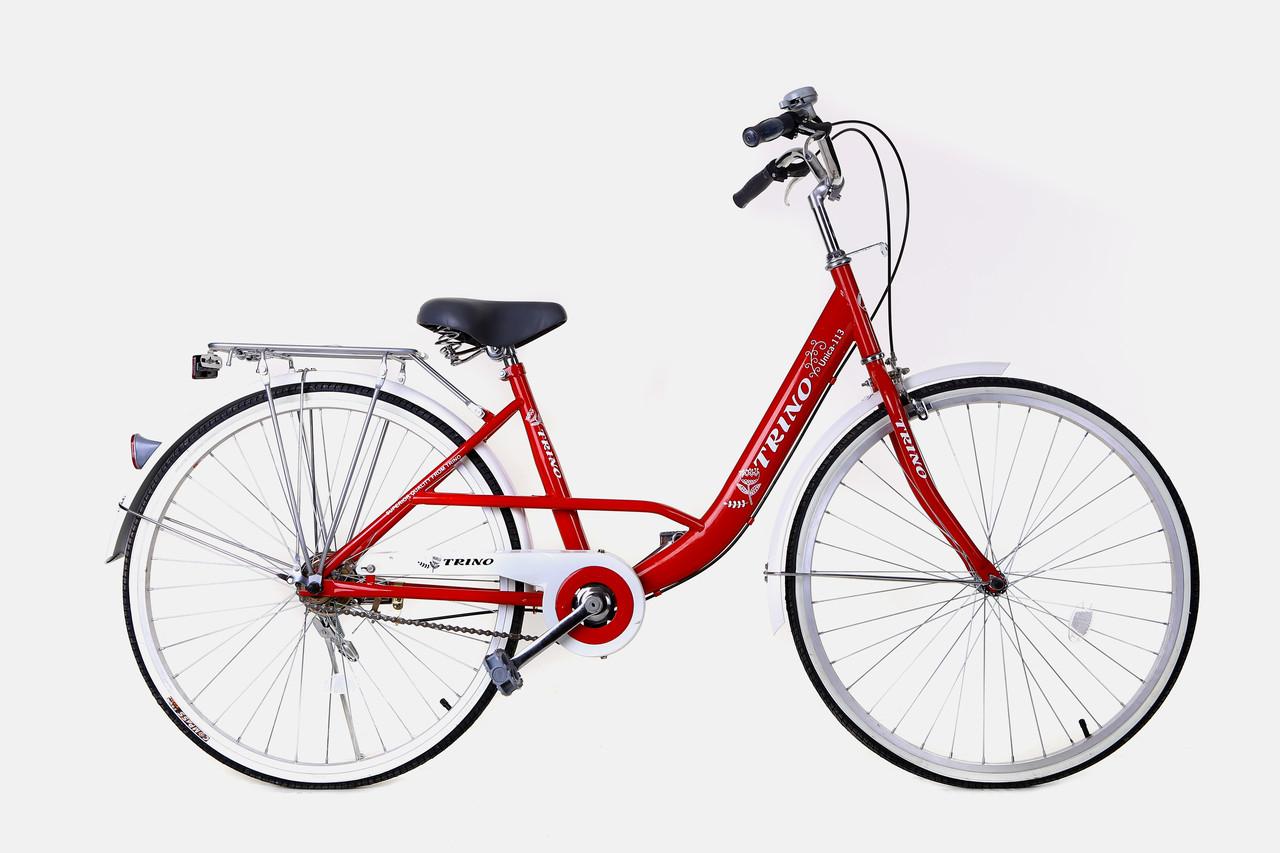 Велосипед UNICA CM113 TRINO (Рост 150-165 см) *АКЦИЯ — ДОСТАВКА И СБОРКА ВЕЛОСИПЕДОВ В ПОДАРОК!