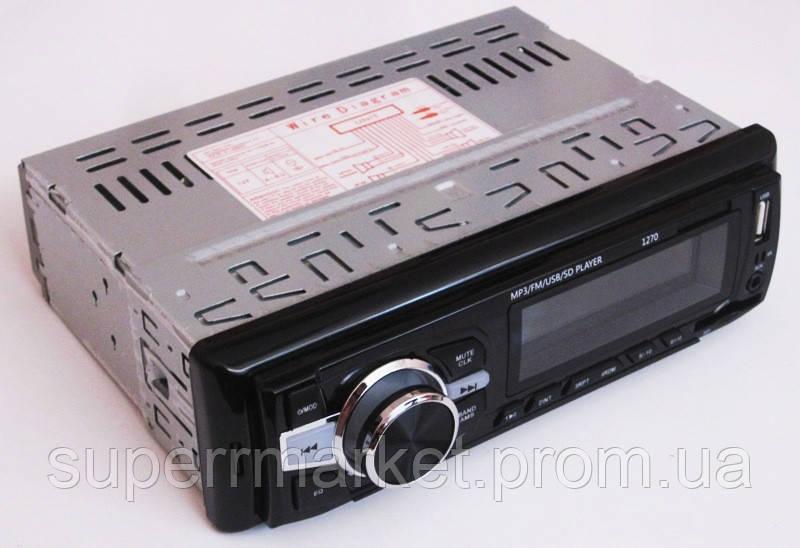 Автомагнитола Pioneer 1270 MP3 SD USB AUX FM