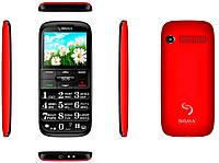 Телефон Sigma Comfort 50 Slim Black-Red (бабушкофон) ' 2