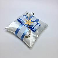 Подушка для обручальных колец №1.