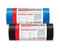 Пакеты для мусора PRO 160 л.LD 20 шт синие,черные