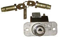 Замок багажника ВАЗ 2108 с ключами и личинками дверей (хром) (компл.) (пр-во Димитровград)