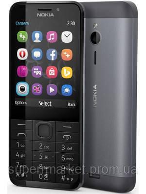 """Телефон Nokia 230 2.8"""" DS Black-Grey ' 3, фото 2"""