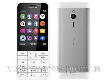 "Телефон Nokia 230 2.8"" DS White '3"