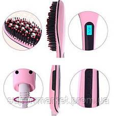 Электрическая расческа-выпрямитель Fast Hair Straightener HQT-906, фото 3