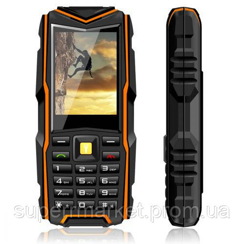 Телефон VKworld Stone V3 NEW Orange  защита IP54  '