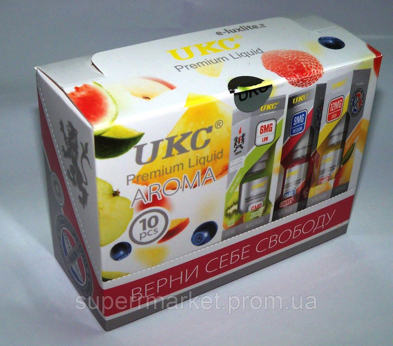 """Жидкость для электронных сигарет  """"Яблоко Apple"""" - UKC Premium Liquid"""
