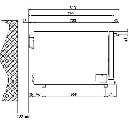 Печь конвекционная Унокс XFТ 193 , фото 2
