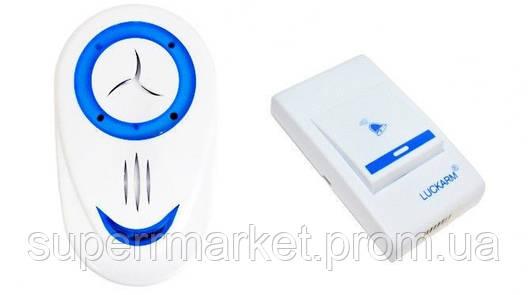 Беспроводной дверной звонок 8853  от сети , blue, фото 2