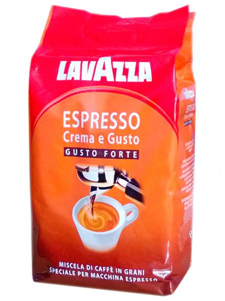 Кофе Lavazza Crema e Gusto Gusto Forte в зернах 1 кг