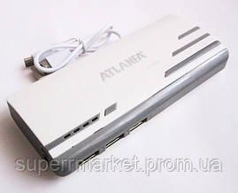 Универсальная батарея -  ATLANFA power bank 12000mAh   AT-D2017, фото 3