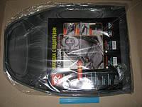 Накидка на сиденье с подогревом черная высокая, Дорожная карта, DK-515BK