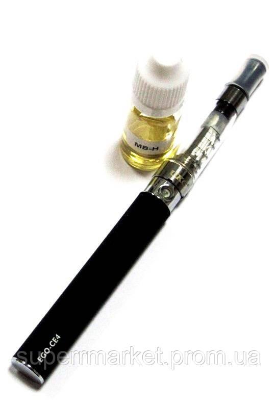 Электронная сигарета UKC   EGO-CE4 650 mAh + заправка, black