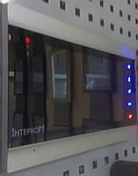 Монитор видеодомофона Intercom IM-02 silver+black