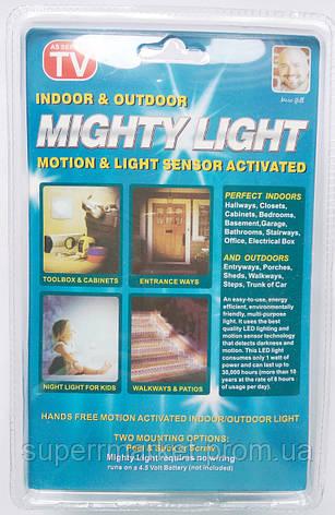 Автономный светильник с датчиком движения Mighty Light, фото 2
