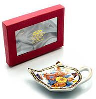 """Подставка под чайные пакетики (11,5 см) """"Цветы"""""""