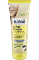 Шампунь Balea Professional More Blond Shampoo, 250 ml