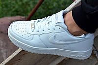 Кроссовки Nike Air Force low Найк Аир форс реплика белые стильные популярные