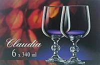 Бокалы для вина Bohemia Claudia 340 мл 6 шт