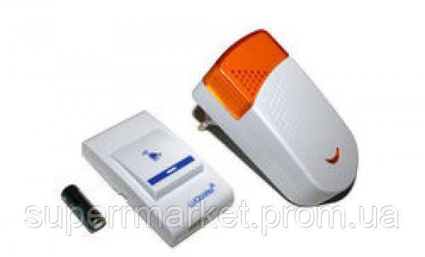 Беспроводной дверной звонок 8603  от сети ,  orange