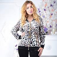 Брендовый турецкий костюм Eze леопард принт , фото 1