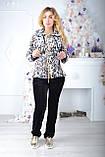Брендовий турецький костюм Eze леопард принт, фото 5