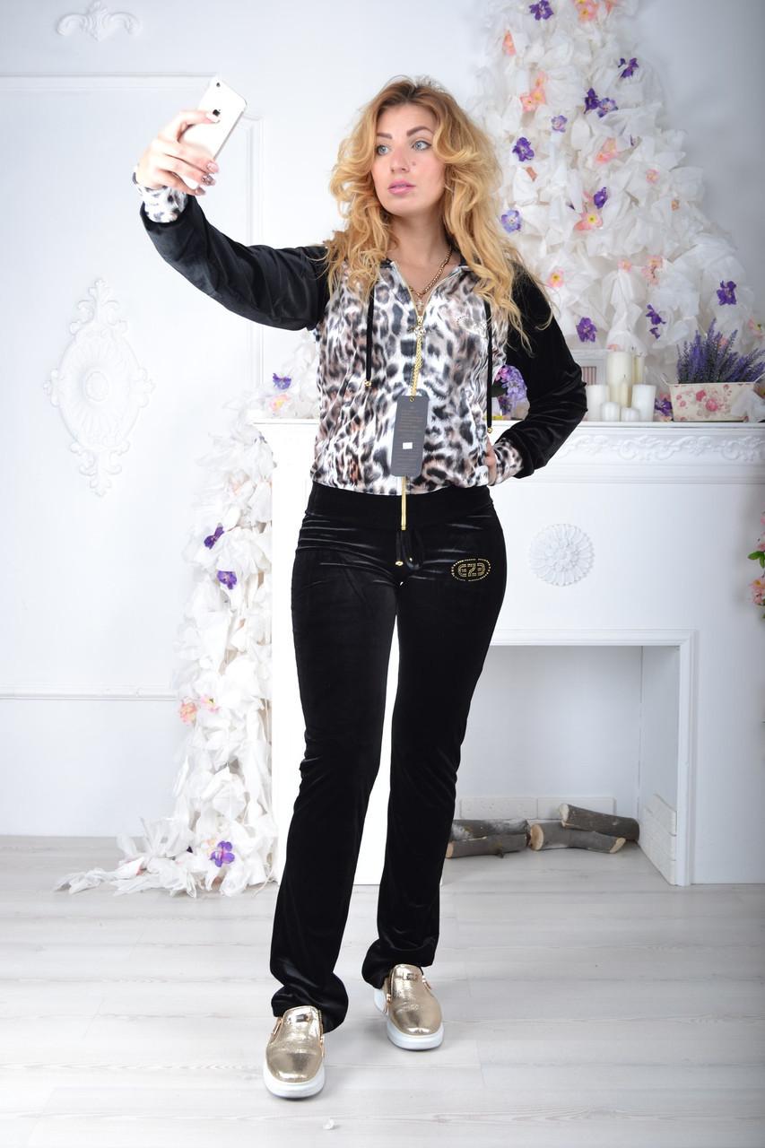 Брендовый турецкий костюм Eze леопард принт