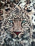 Брендовий турецький костюм Eze леопард принт з мордою, фото 6