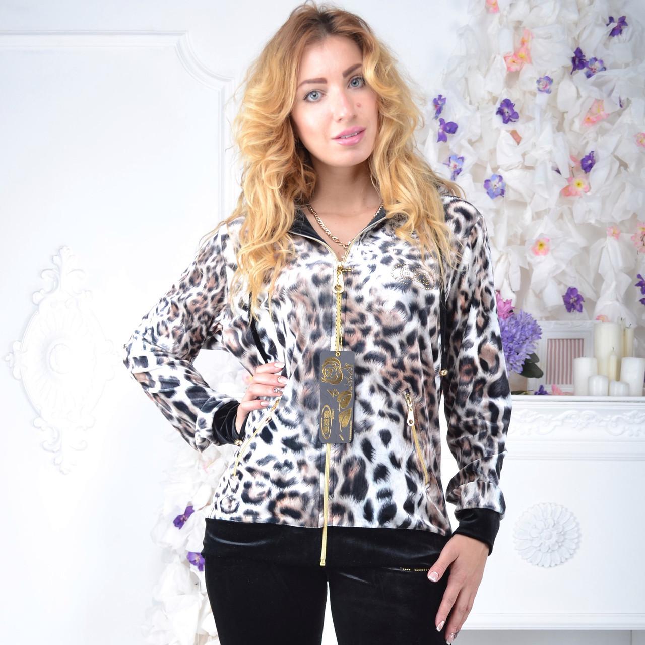 Брендовий турецький костюм Eze леопард принт