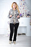 Брендовый турецкий костюм Eze леопард принт, фото 5
