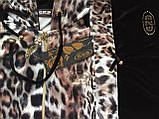 Брендовый турецкий костюм Eze леопард принт, фото 6