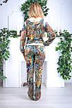 Женский велюровый костюм про-во Турция Eze, размеры 50,52,54,56, фото 3
