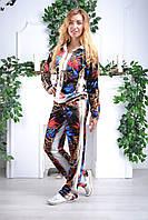 Турецкий велюровый костюм Eze большие размеры, фото 1